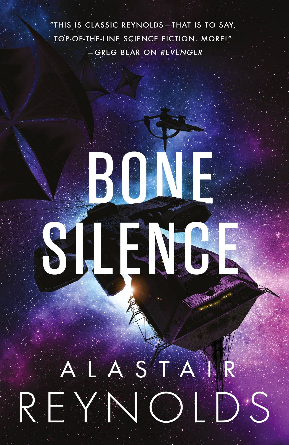 Review Bone Silence by Alastair Reynolds cover