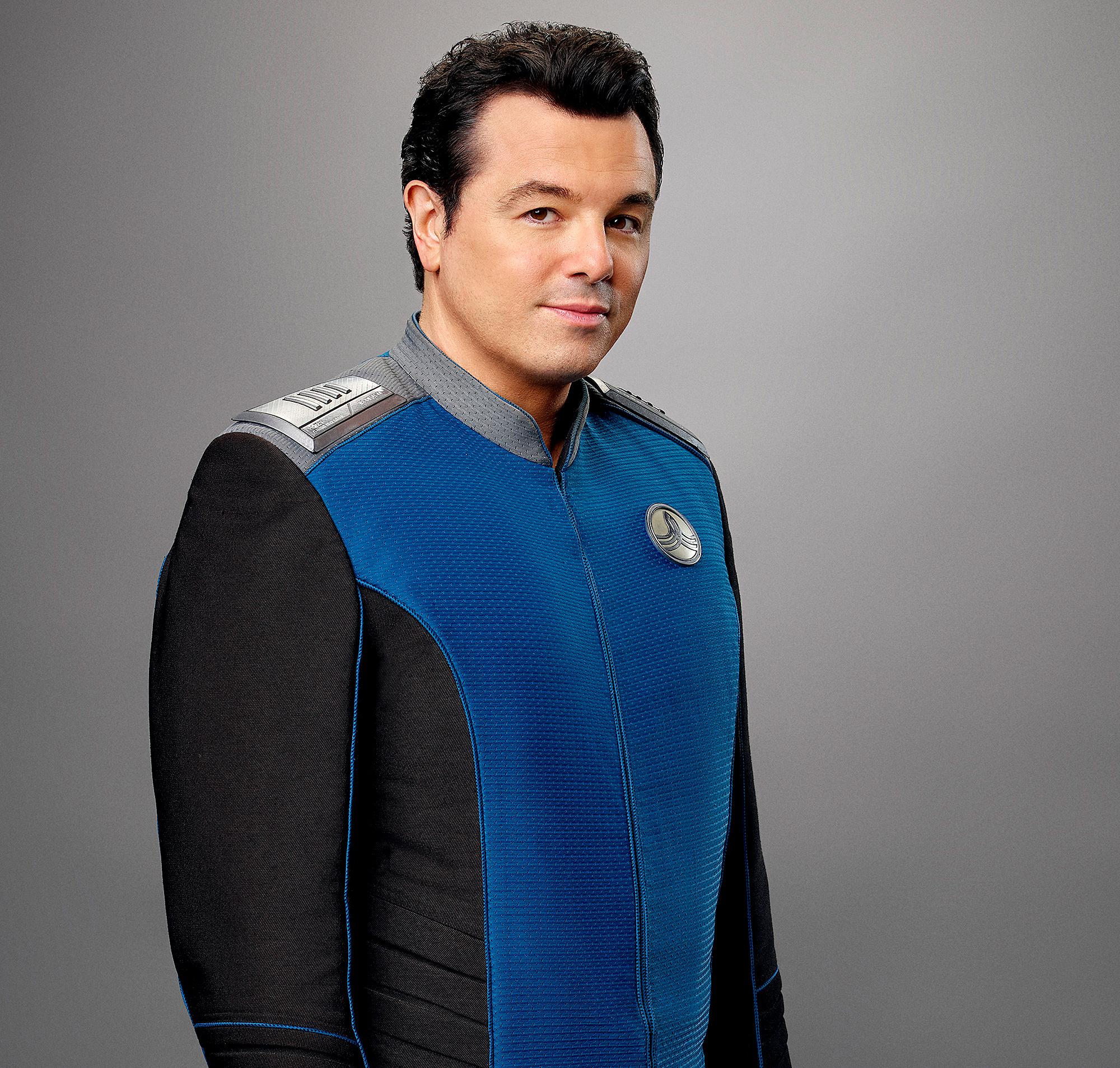 Seth MacFarlane as Captain Ed Mercer on The Orville