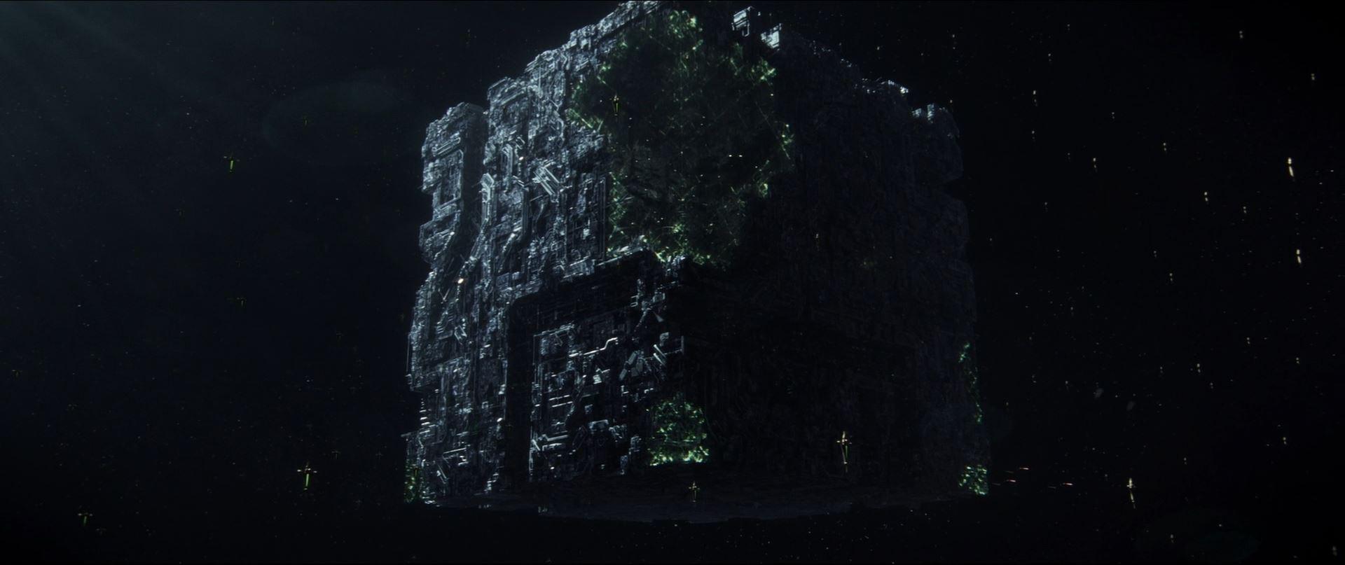 Star Trek Picard - Borg cube
