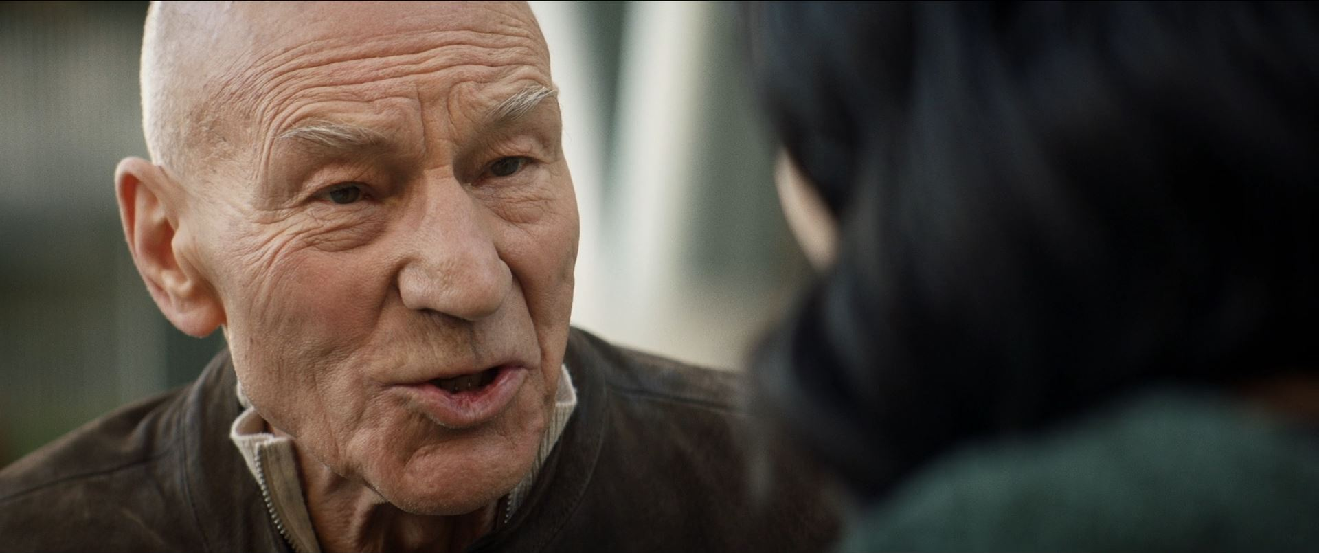 Star Trek Picard - Patrick Stewart as Starfleet Admiral Jean-Luc Picard retired