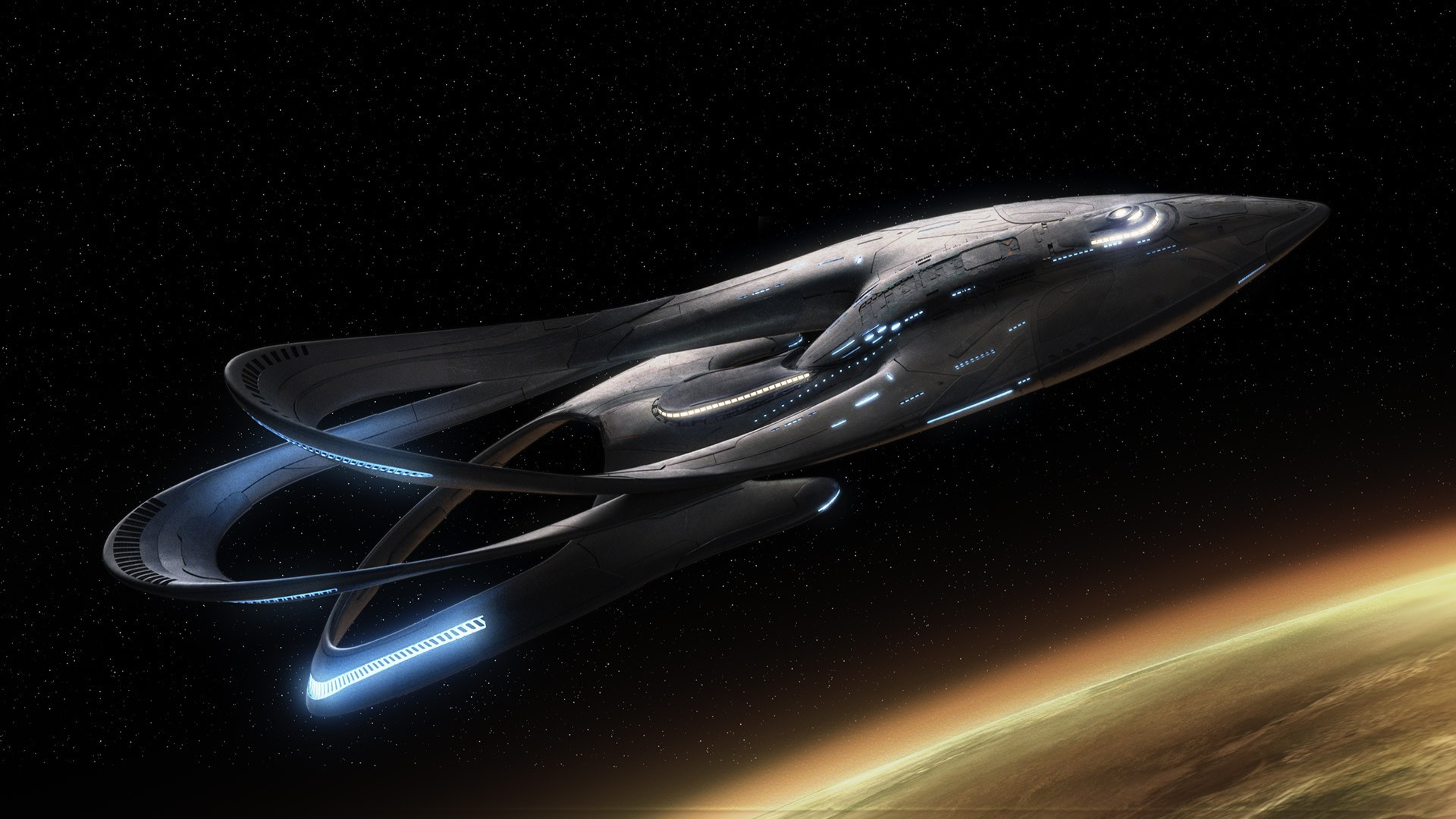 The Orville ship