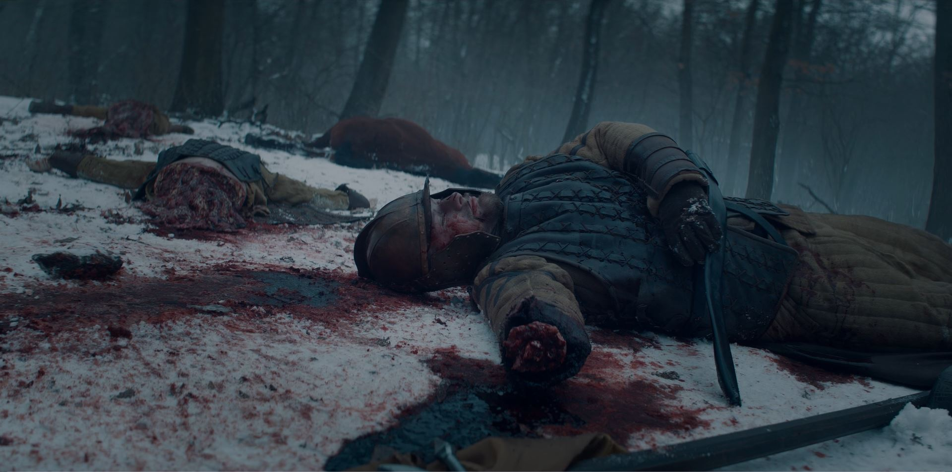 The Witcher - dead bodies