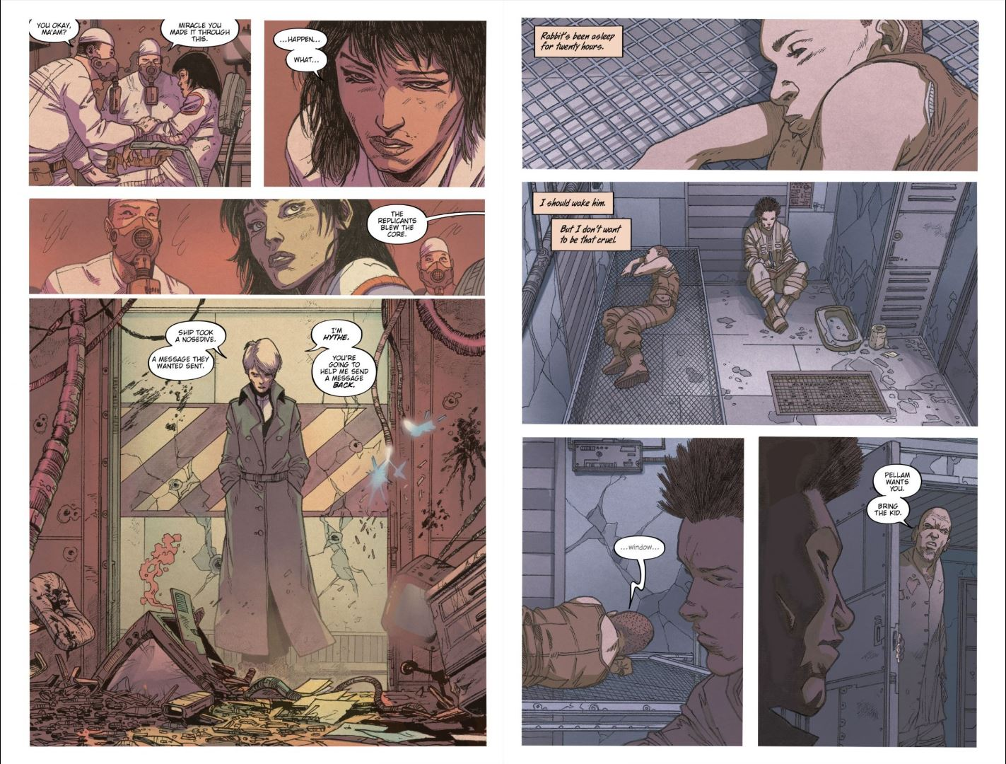 Blade Runner 2019 # 6 Review - Hythe and Cleo