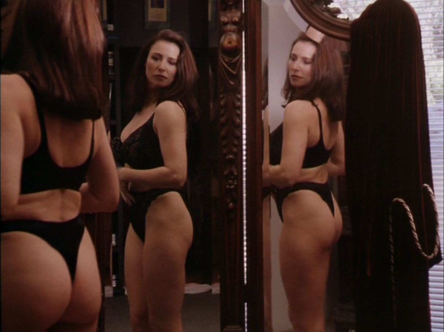 Mimi Rogers thong in Full Body Massage 2