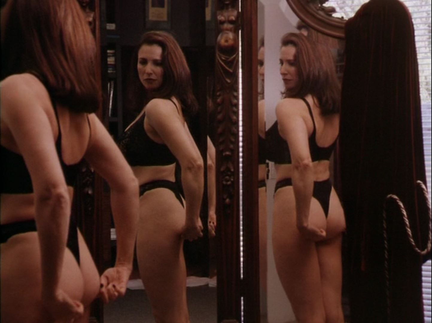 Mimi Rogers thong in Full Body Massage 3