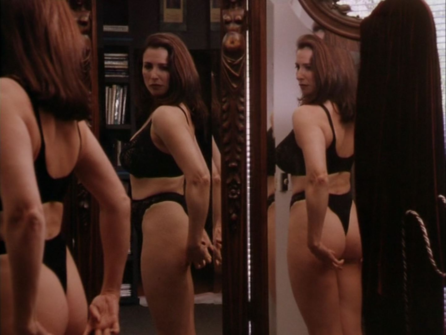 Mimi Rogers thong in Full Body Massage 4