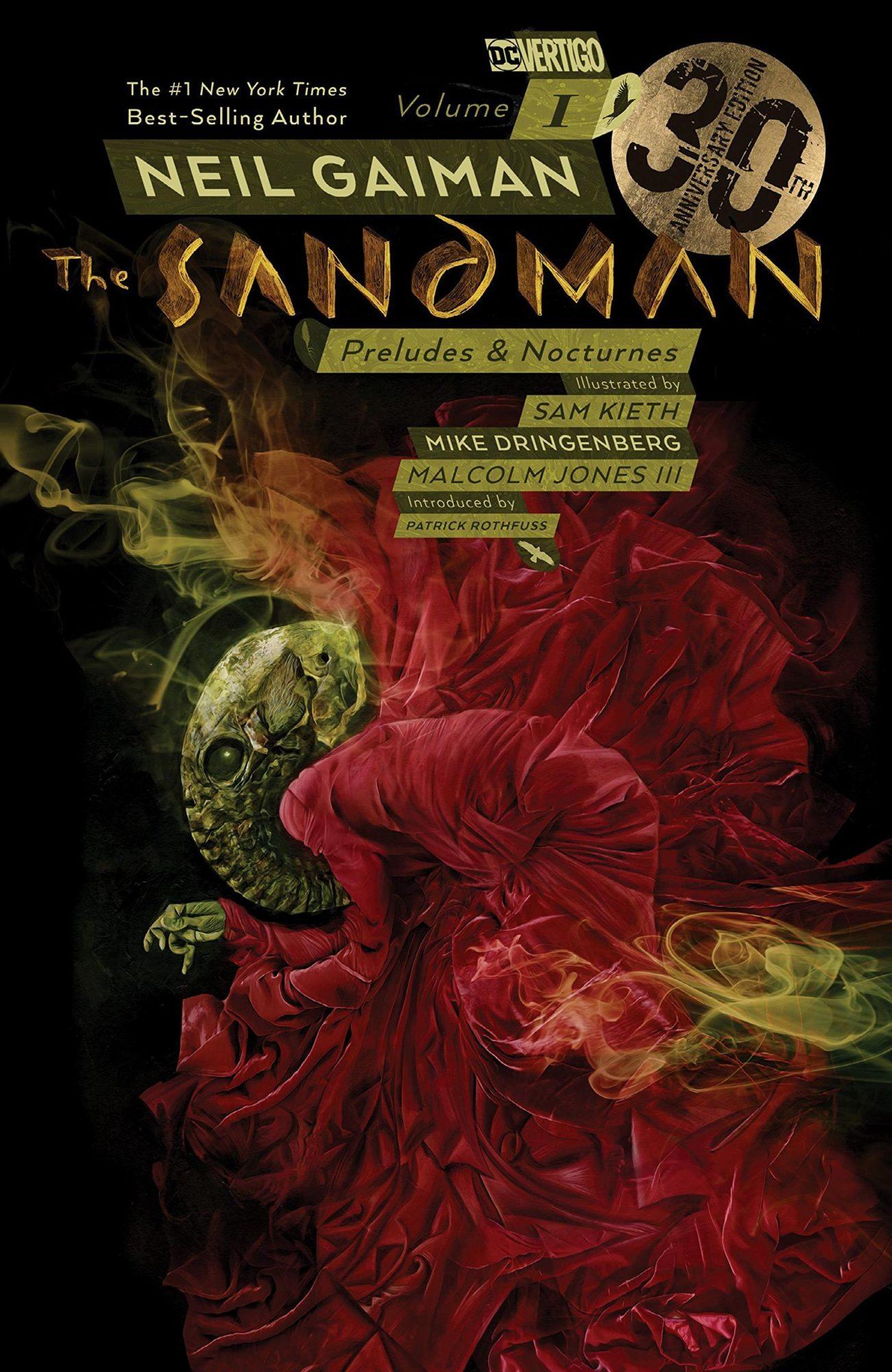 Neil Gaiman's The Sandman Preludes & Nocturnes cover