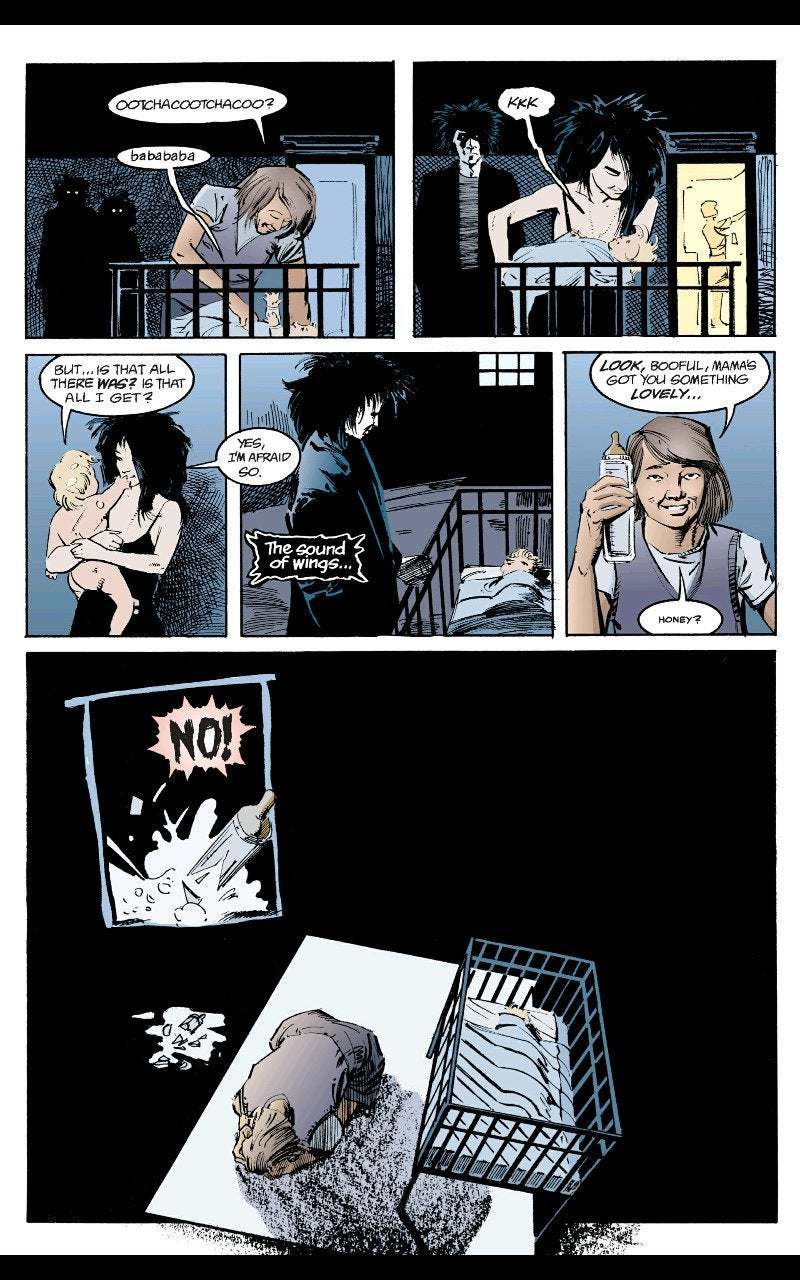 Review of Neil Gaiman's The Sandman Preludes & Nocturnes death 2