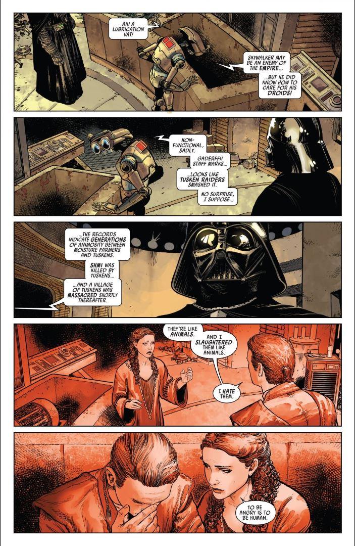 Star Wars Darth Vader (2020) - Darth Vader searching for Luke on Tatooine