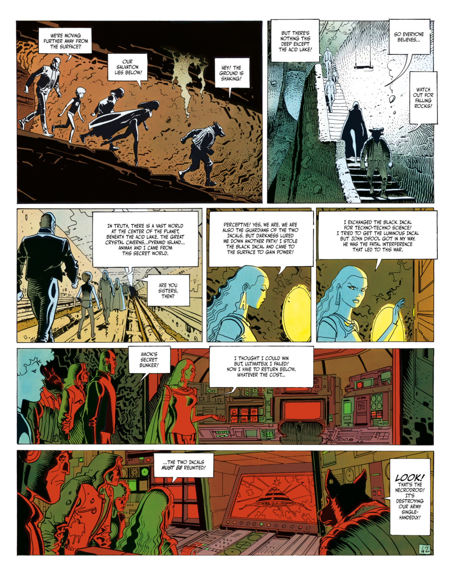 The Incal - Journey to the center of the planet