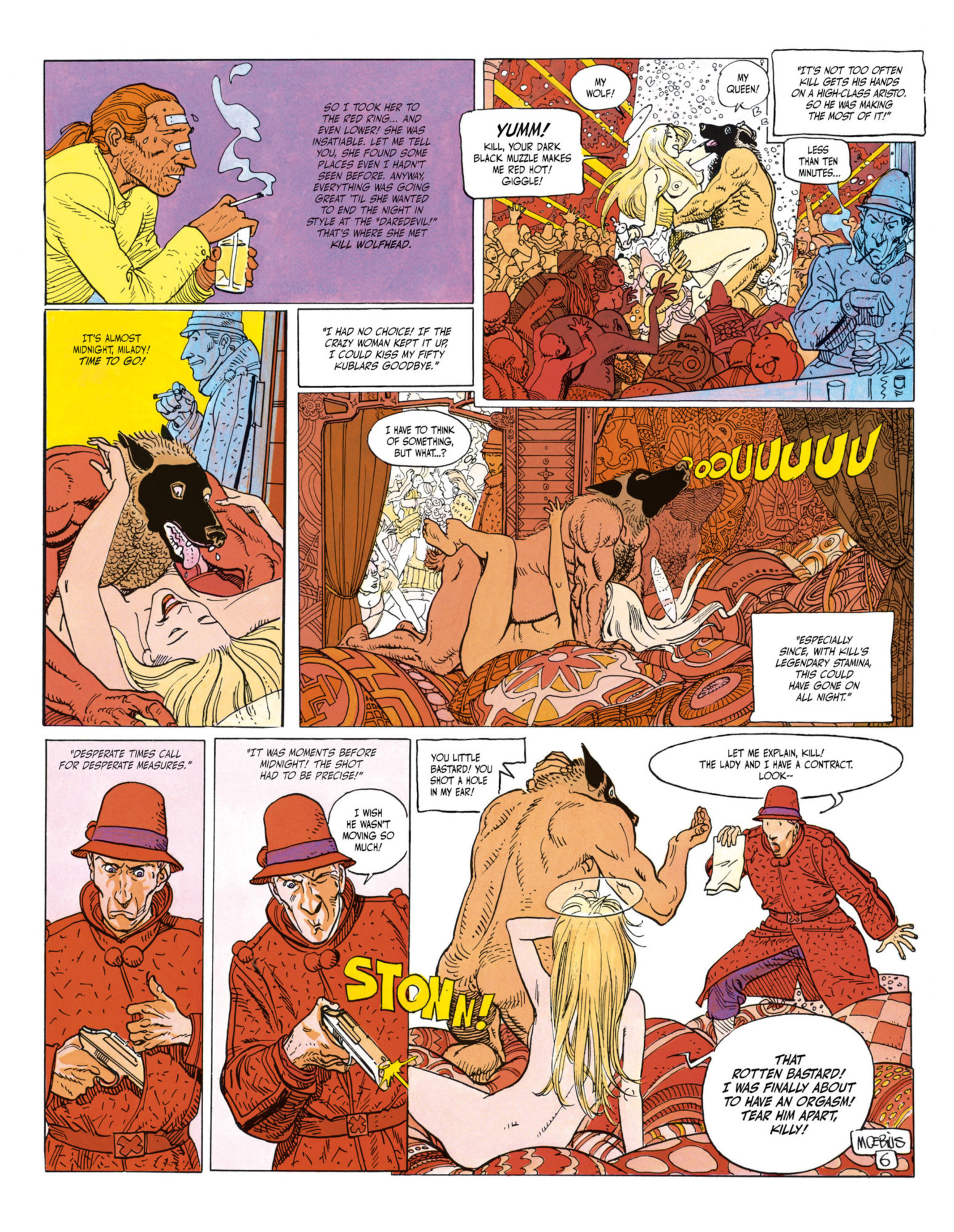 The Incal - Kill wolfhead interrupted by John DiFool