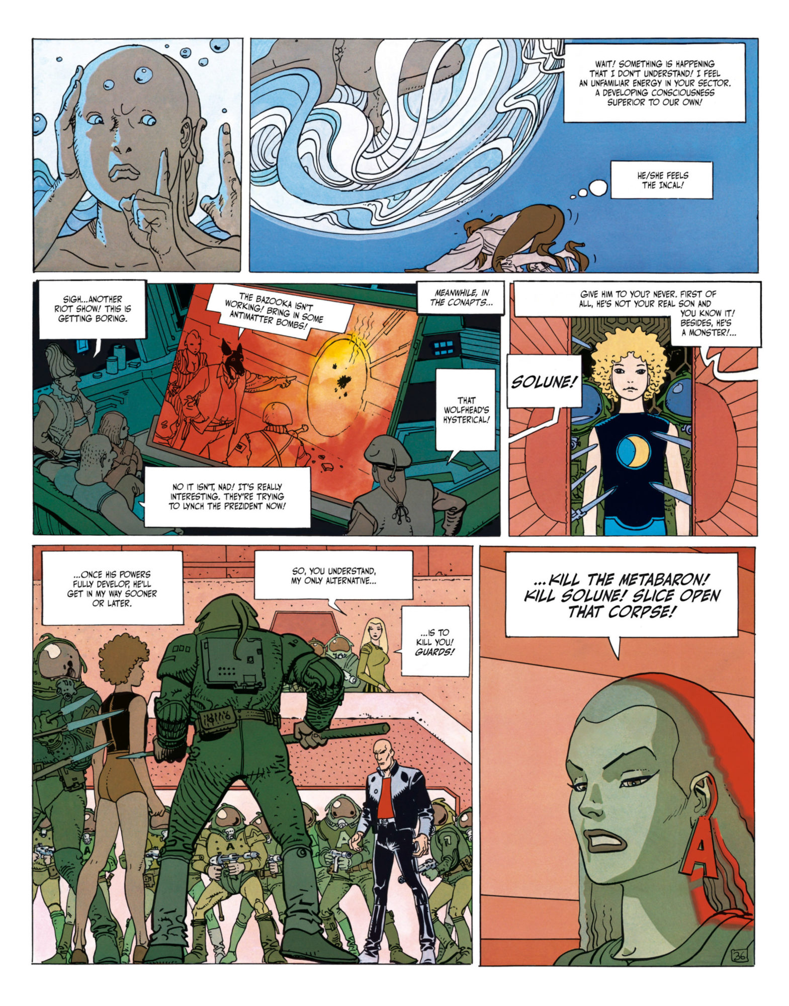 The Incal - Metabaron encounters Tanatah