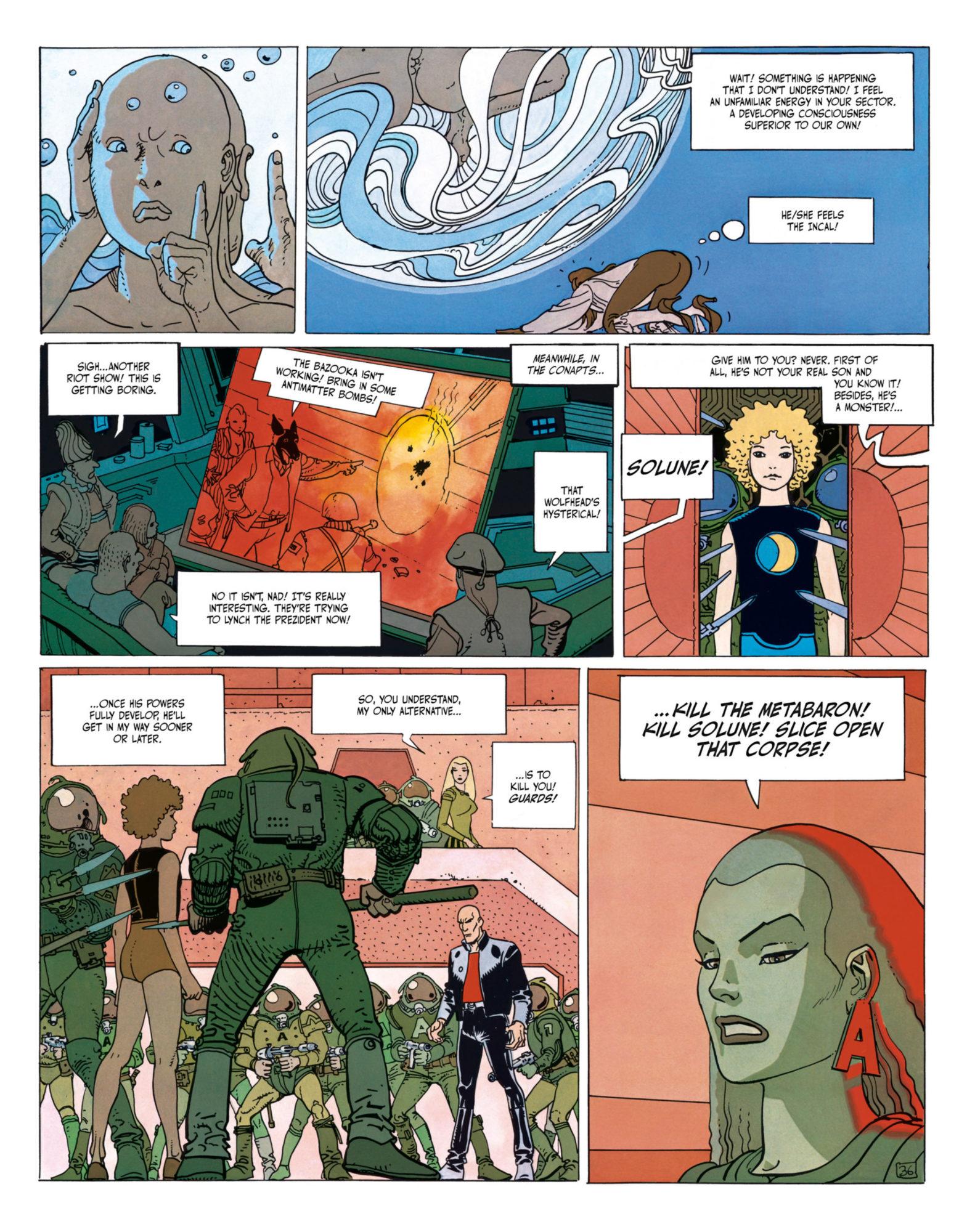 The Incal - Metabaron encounters Tanatah