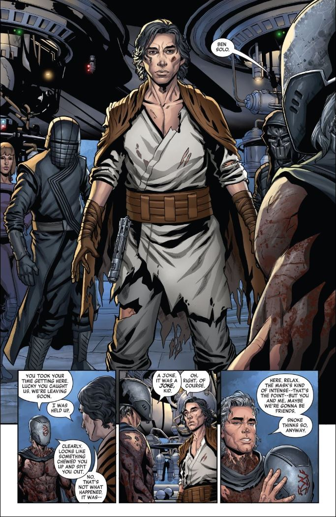 The Rise of Kylo Ren Issue 3 - Ben Solo joins the Knight of Ren