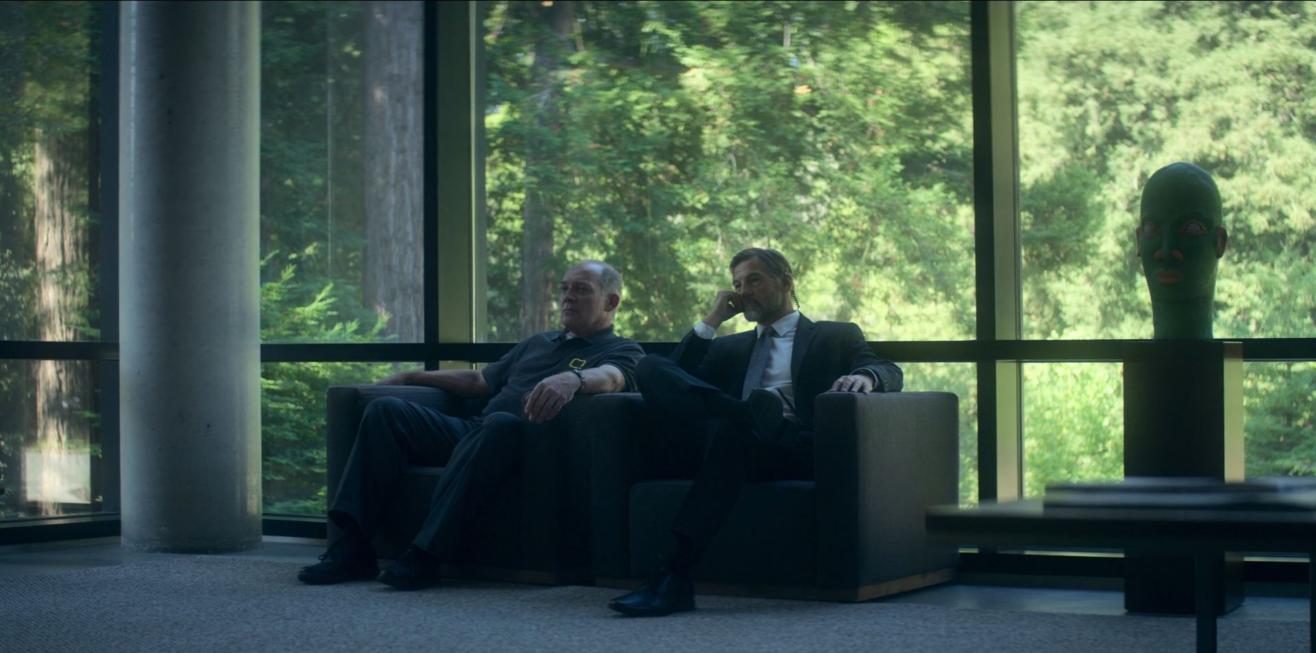 Devs episode 3 Review - Kenton and Senator bodyguard