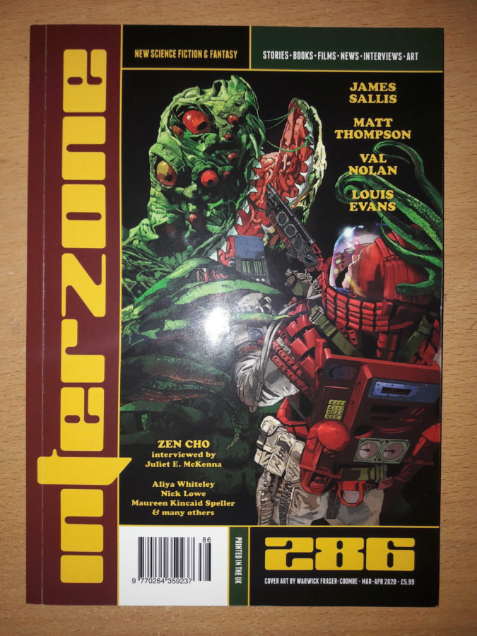 Interzone issue # 286 Review cover
