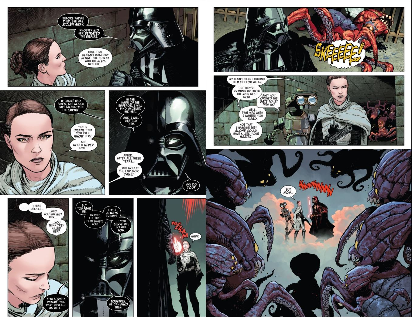 Review Issue 2 Star Wars Darth Vader (2020) - Vader makes a deal with Sabe