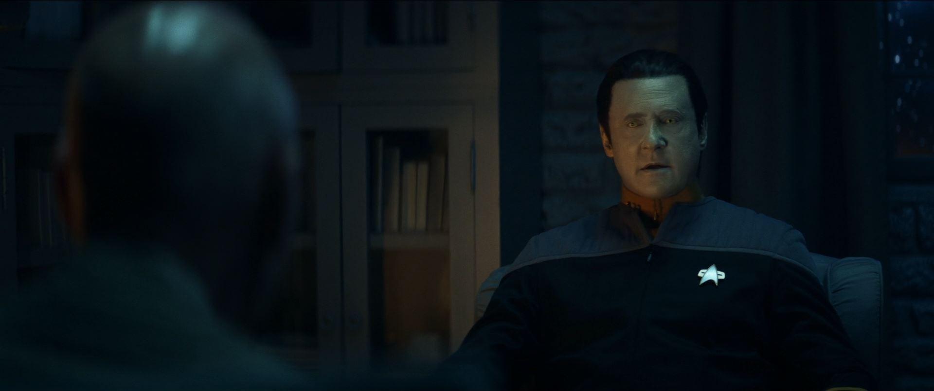 Star Trek Picard S01E10 Et in Arcadia Ego Part 2 Review - Data simulation