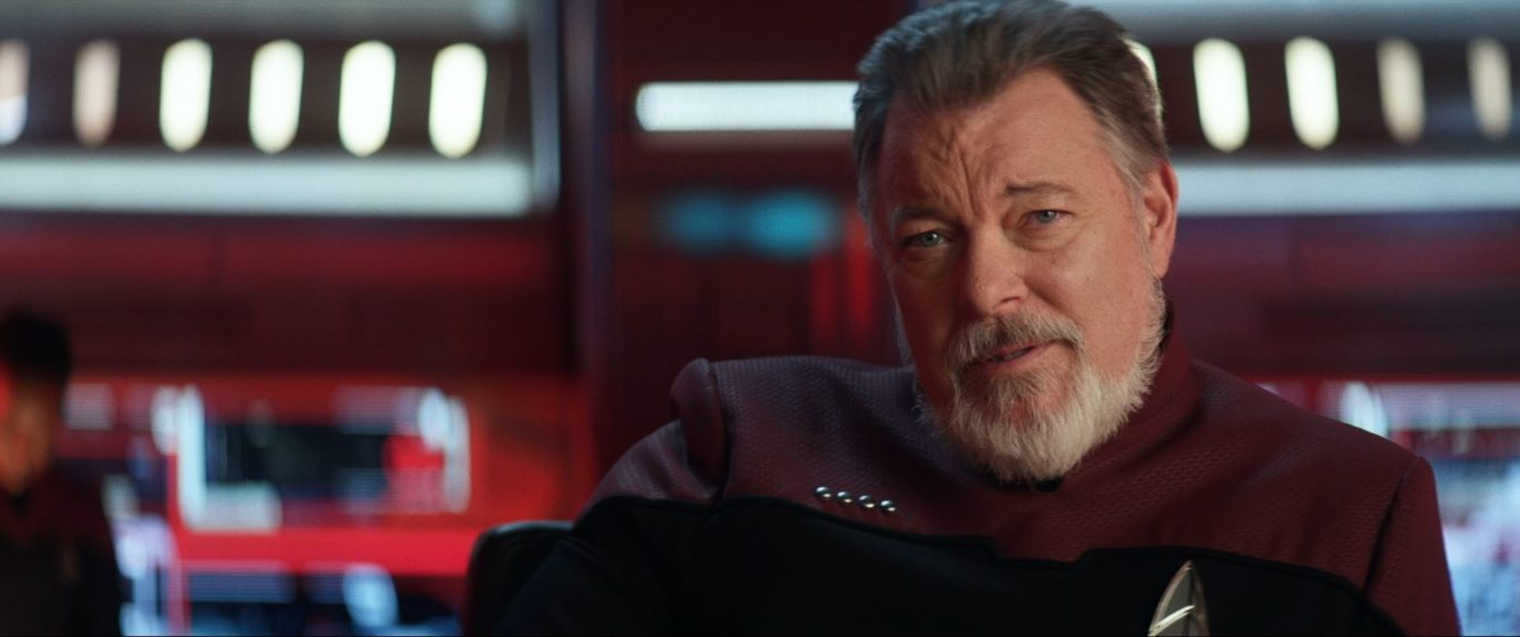 Star Trek Picard S01E10 Et in Arcadia Ego Part 2 Review - Jonathan Frakes as William Riker