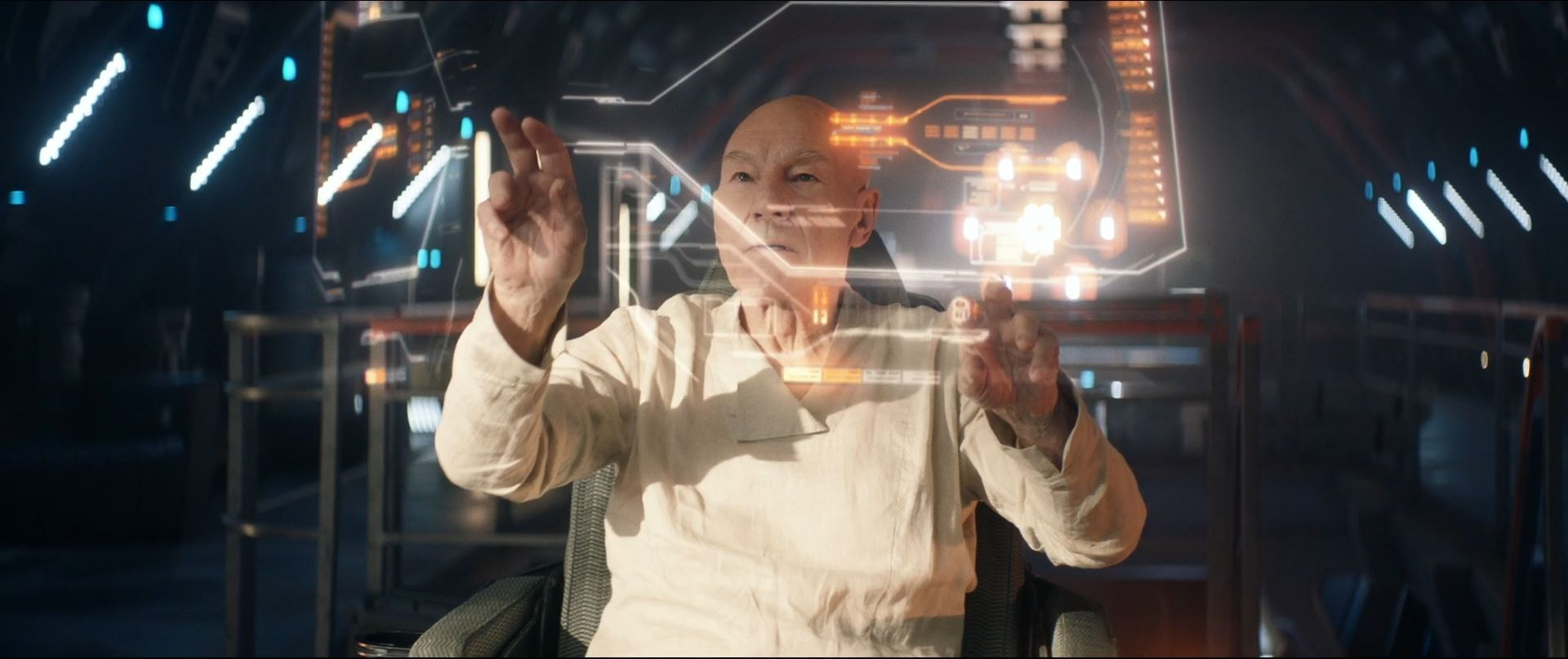 Star Trek Picard S01E10 Et in Arcadia Ego Part 2 Review - Picard commands La Sirena