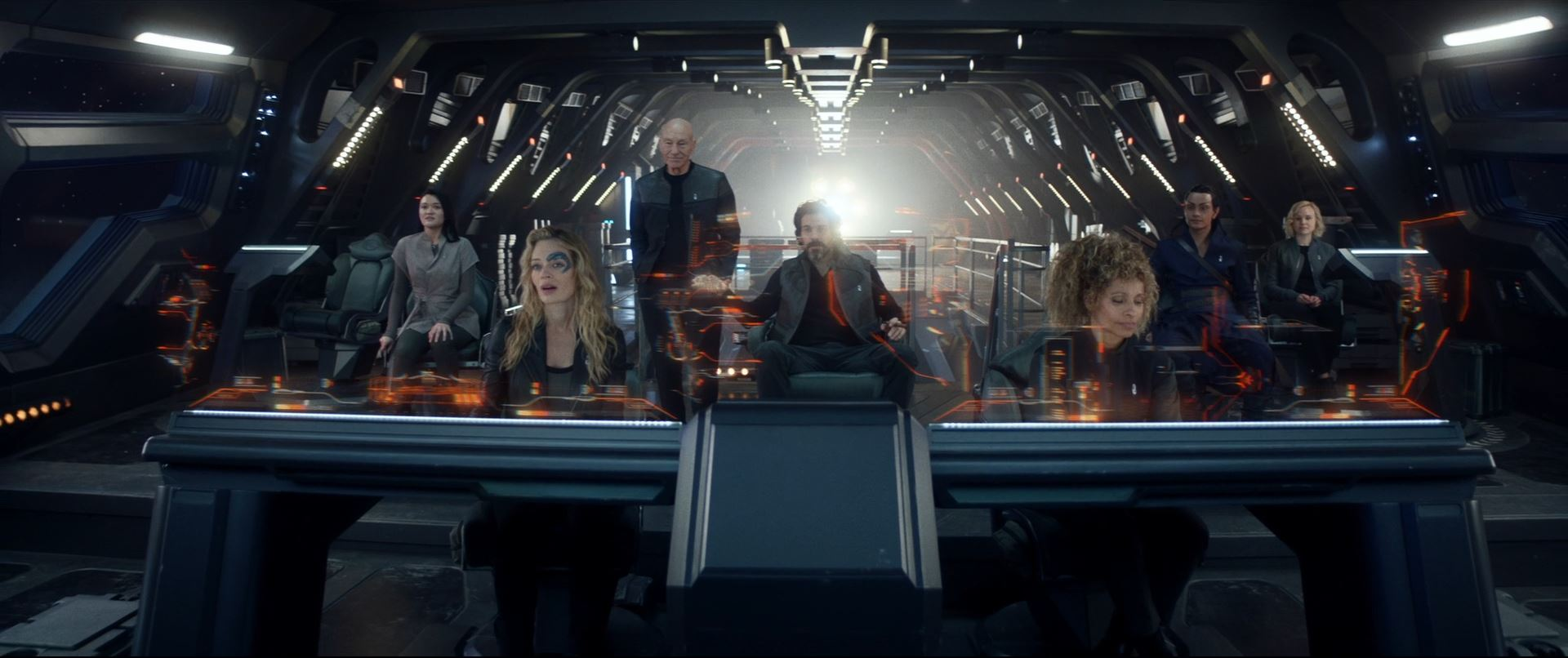 Star Trek Picard S01E10 Et in Arcadia Ego Part 2 Review - The new crew of La Sirena