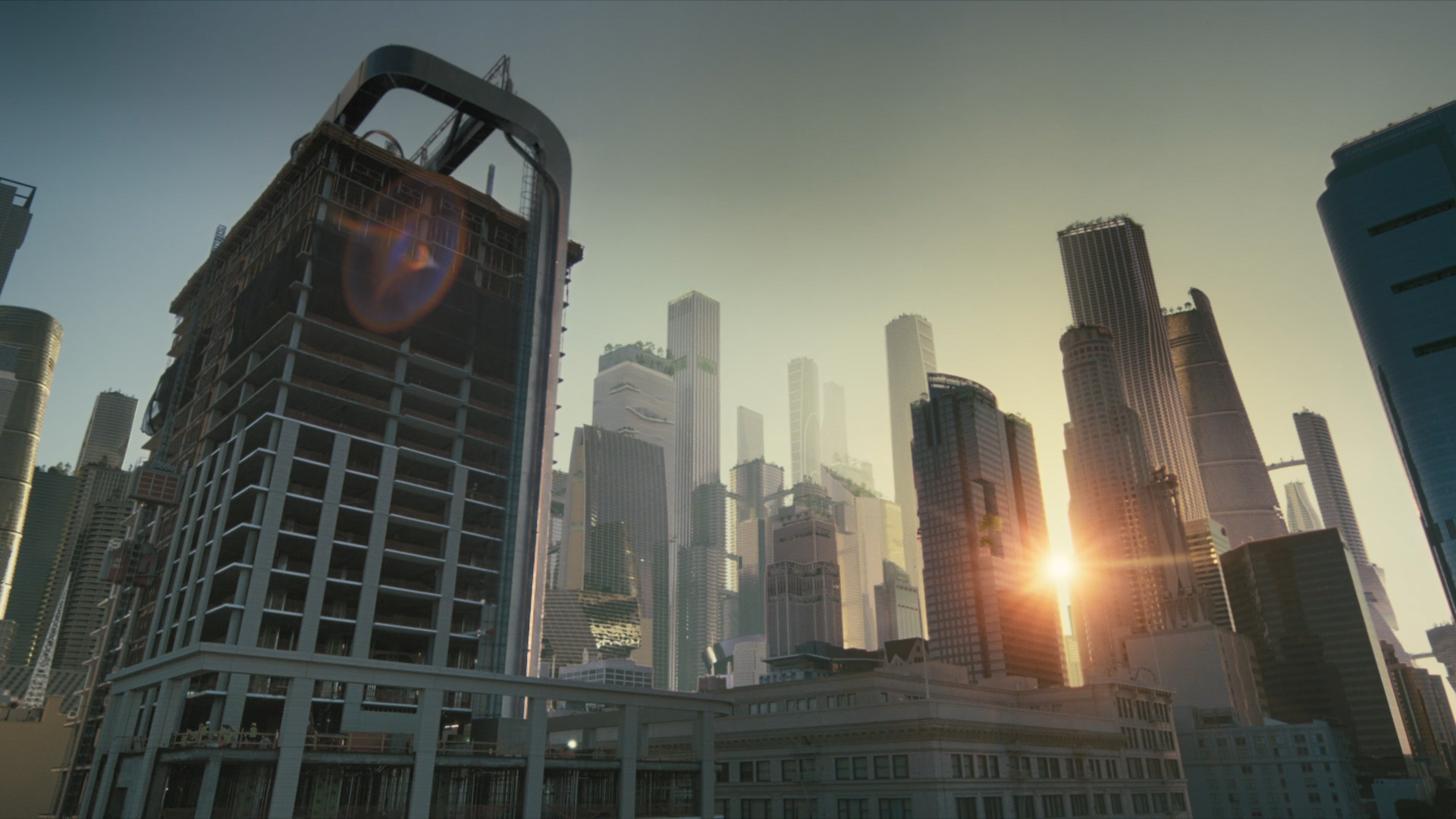 Westworld The Absence of Field Cityscape