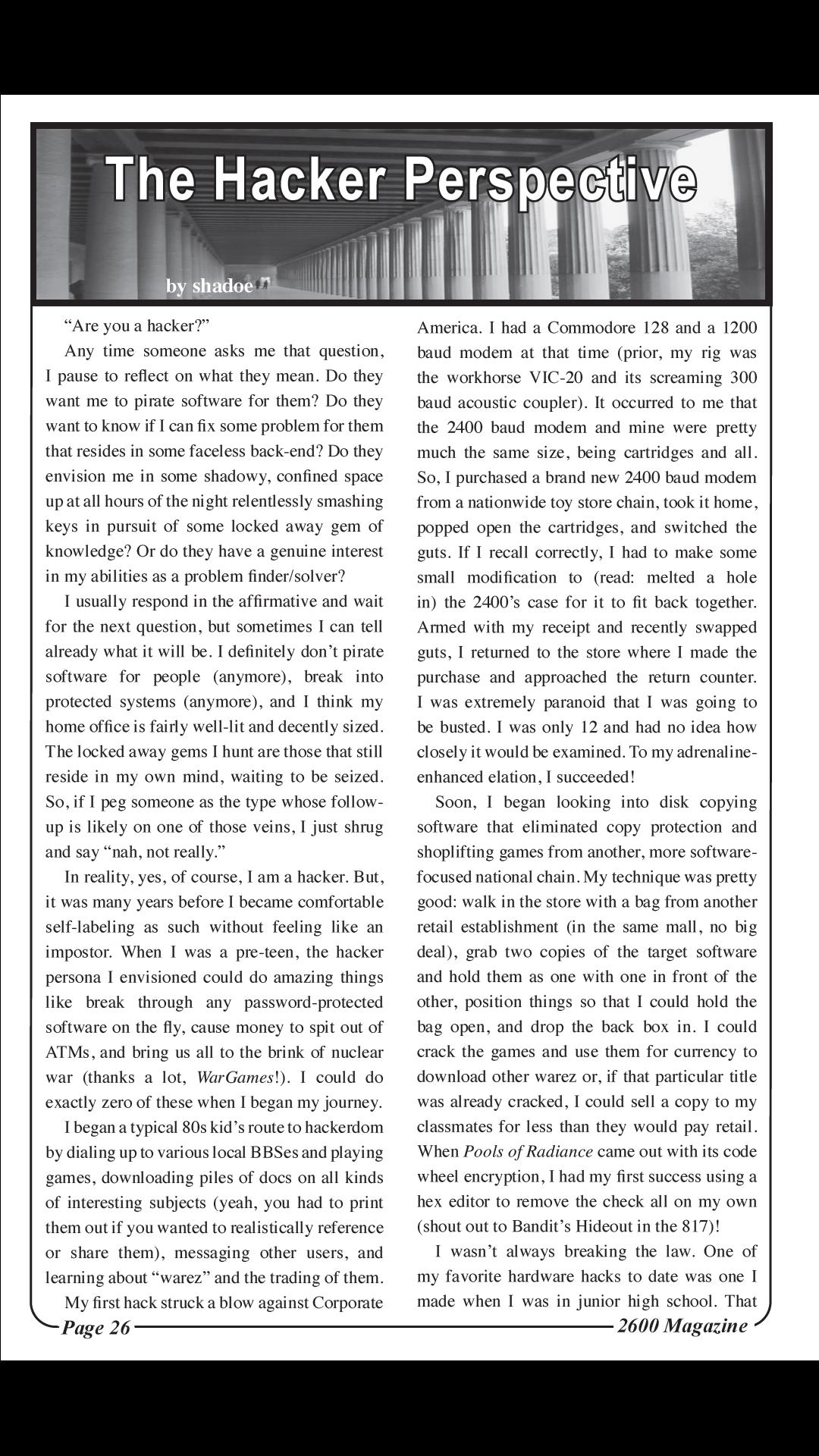 2600 The Hacker Quarterly Spring 2020 4