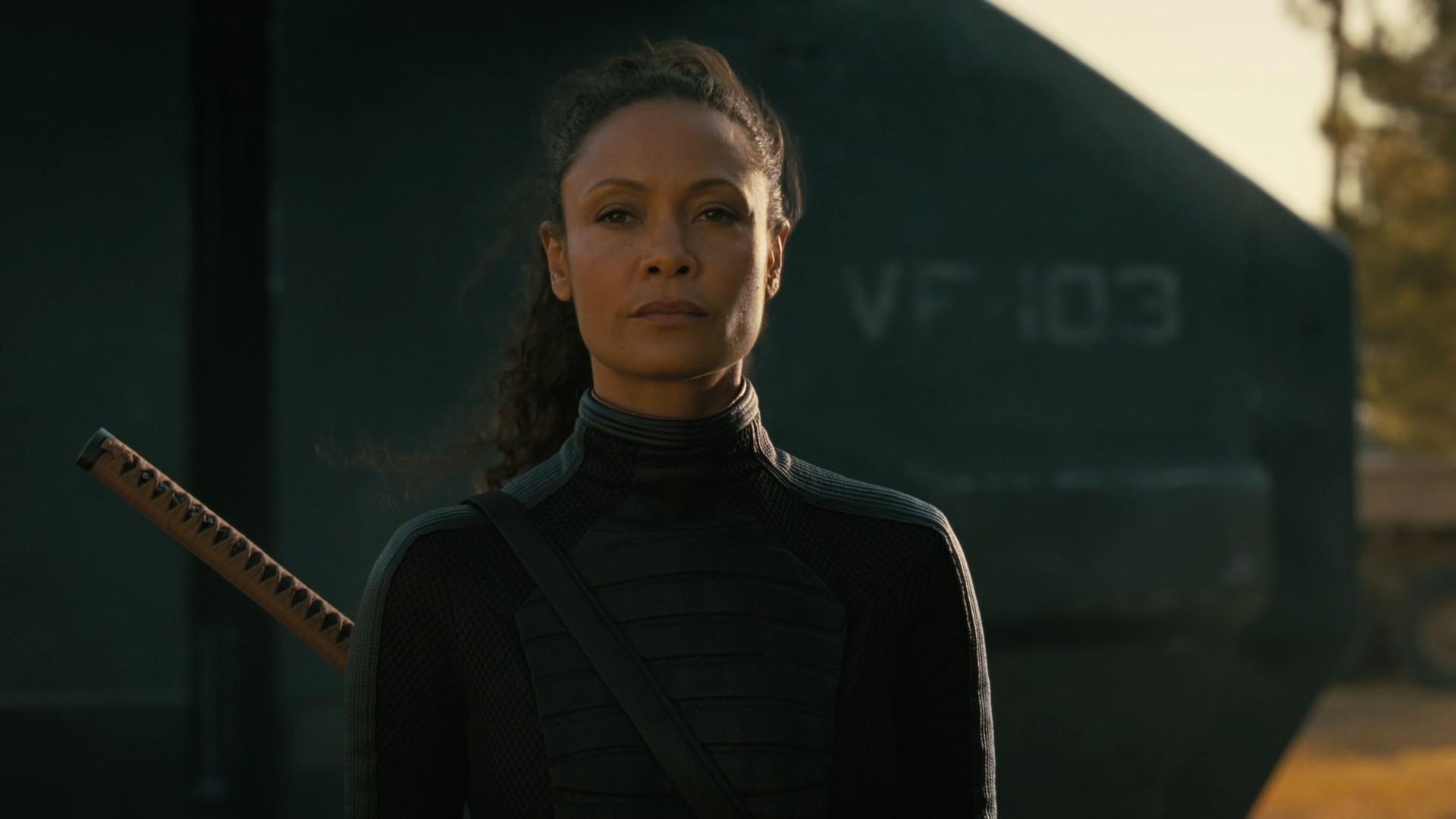 Westworld S03E07 Passed Pawn Thandie Newton as Maeve