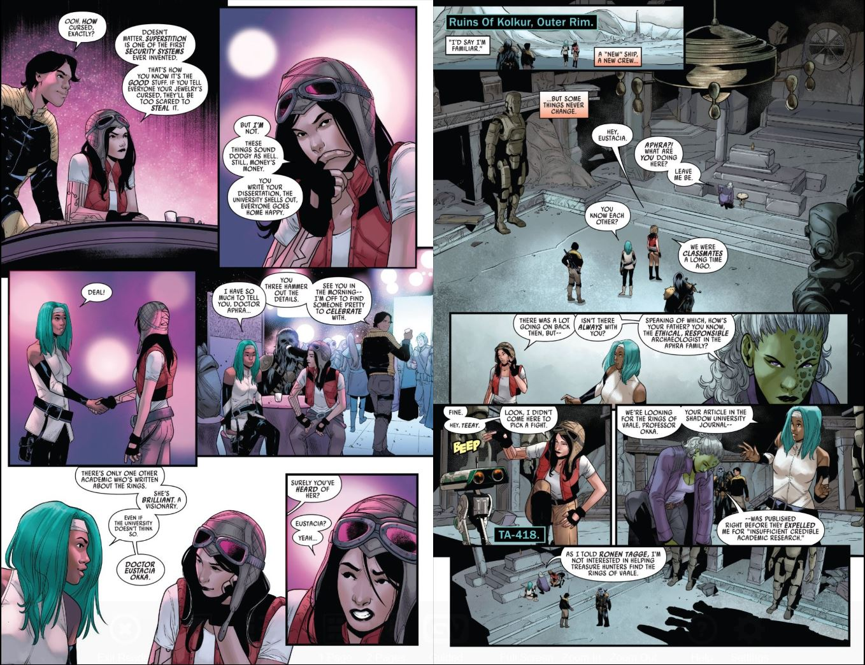 Star Wars Doctor Aphra (2020-) # 1 Eustacia and Detta