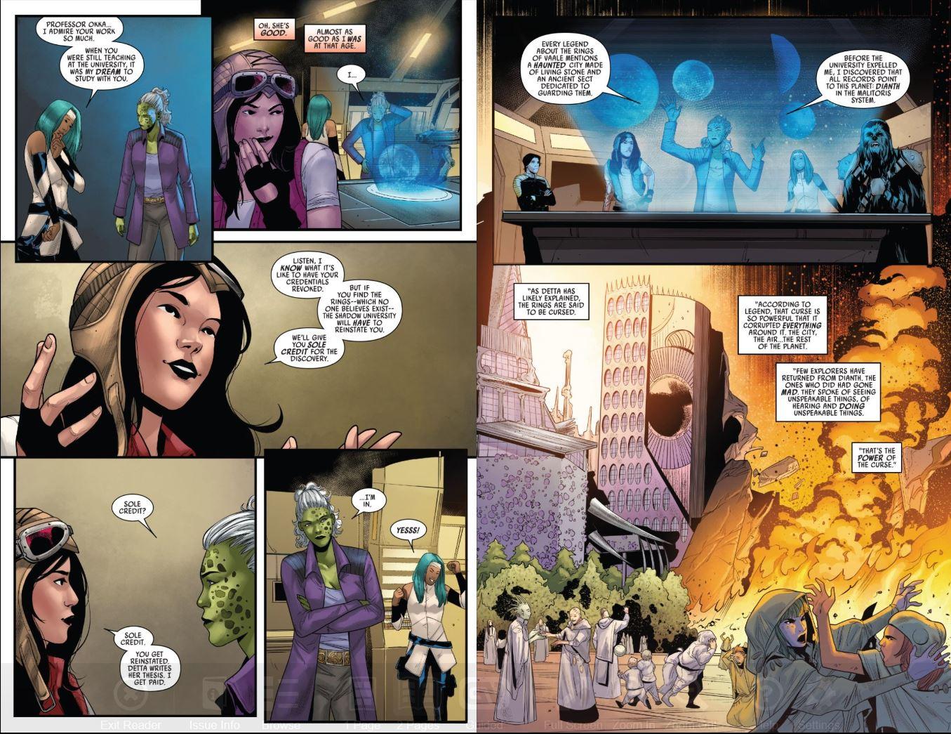Star Wars Doctor Aphra (2020-) # 1 Rings of Vaale