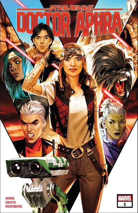 Star Wars Doctor Aphra (2020-) # 1 cover by Valentina Remanar