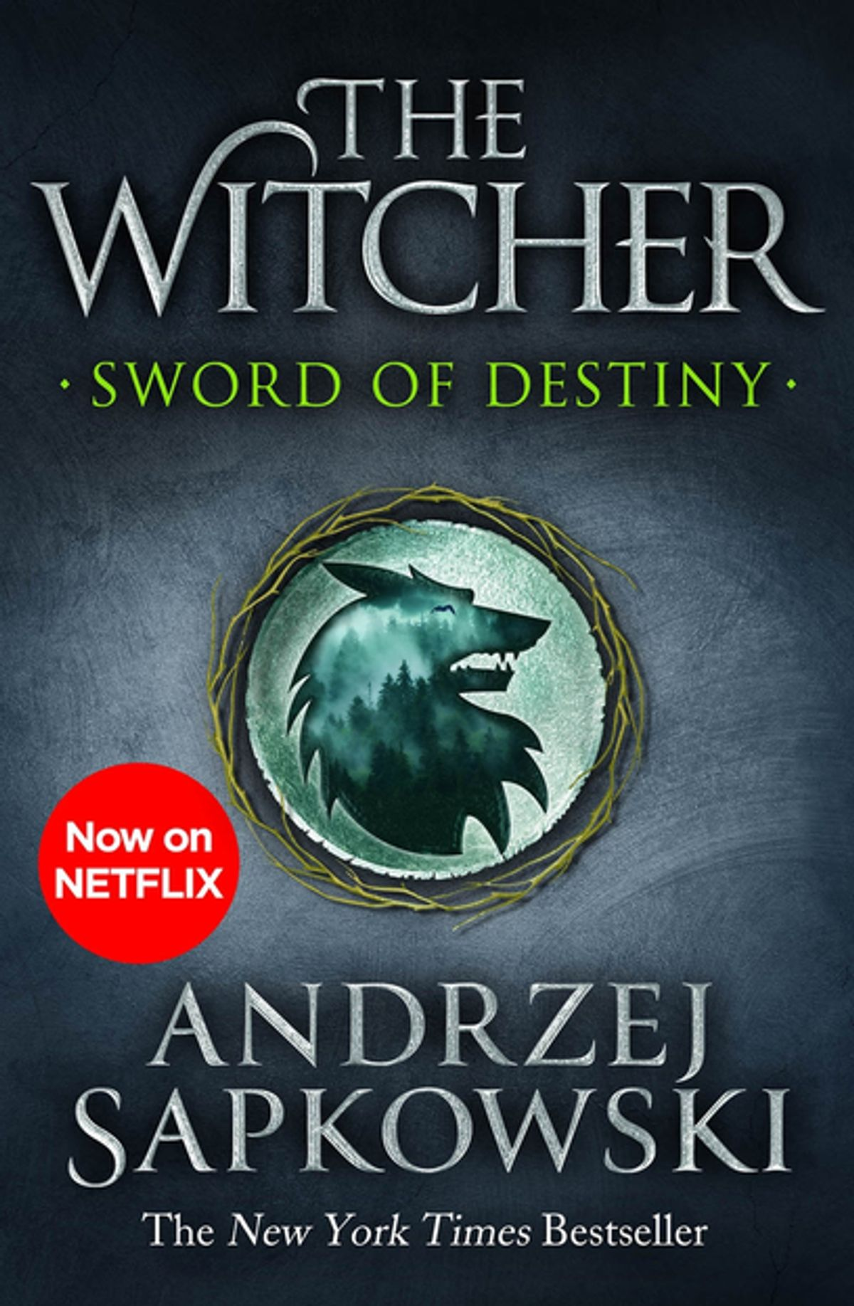 Sword of Destiny cover by Andrzej Sapkowski