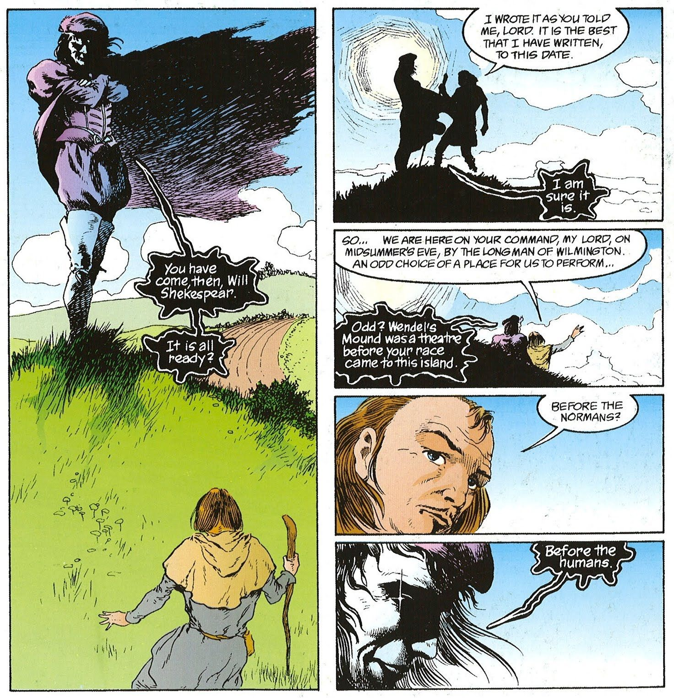 The Sandman Dream Country by Neil Gaiman - A Midsummer Nights Dream
