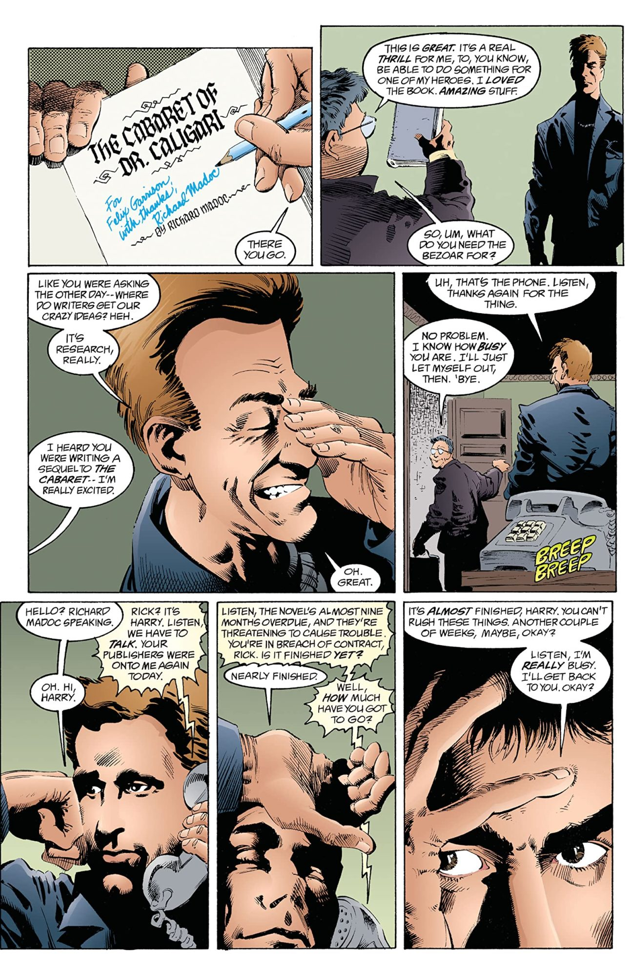 The Sandman Dream Country by Neil Gaiman - Calliope
