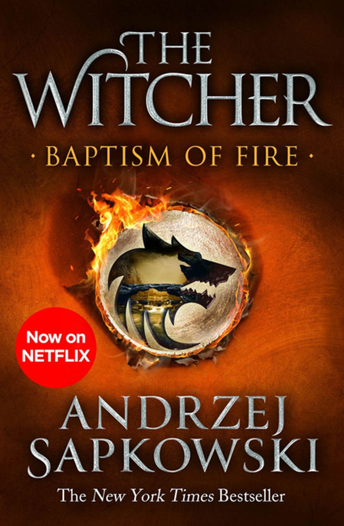 Baptism of Fire cover - The Witcher by Andrzej Sapkowski