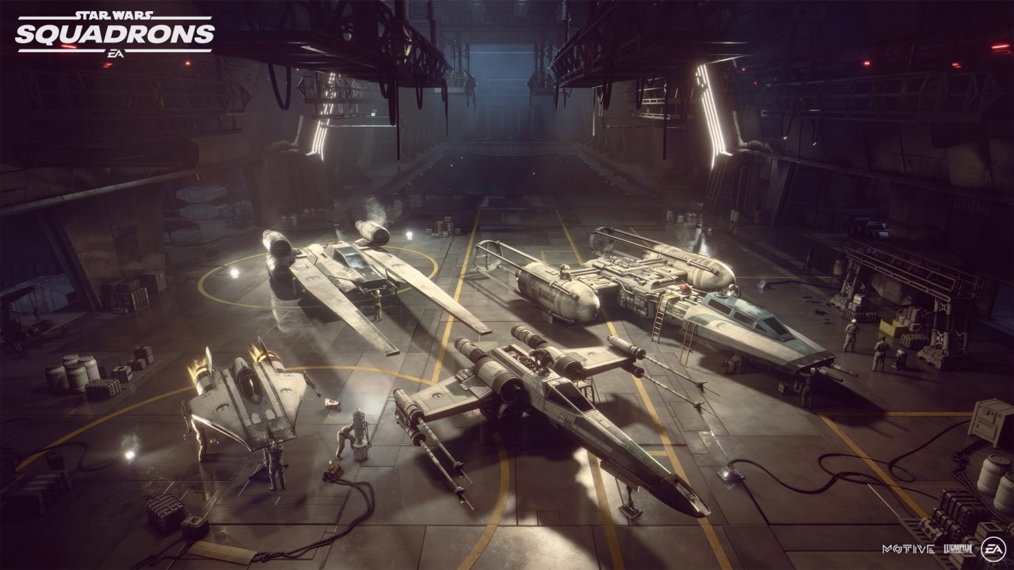 Star Wars Squadrons New Republic ships