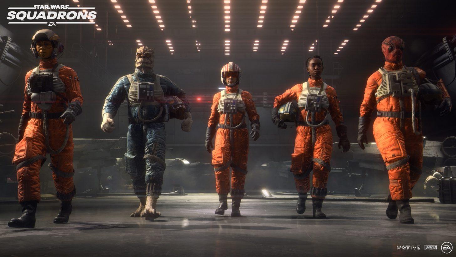 Star Wars Squadrons Vanguard Squadron
