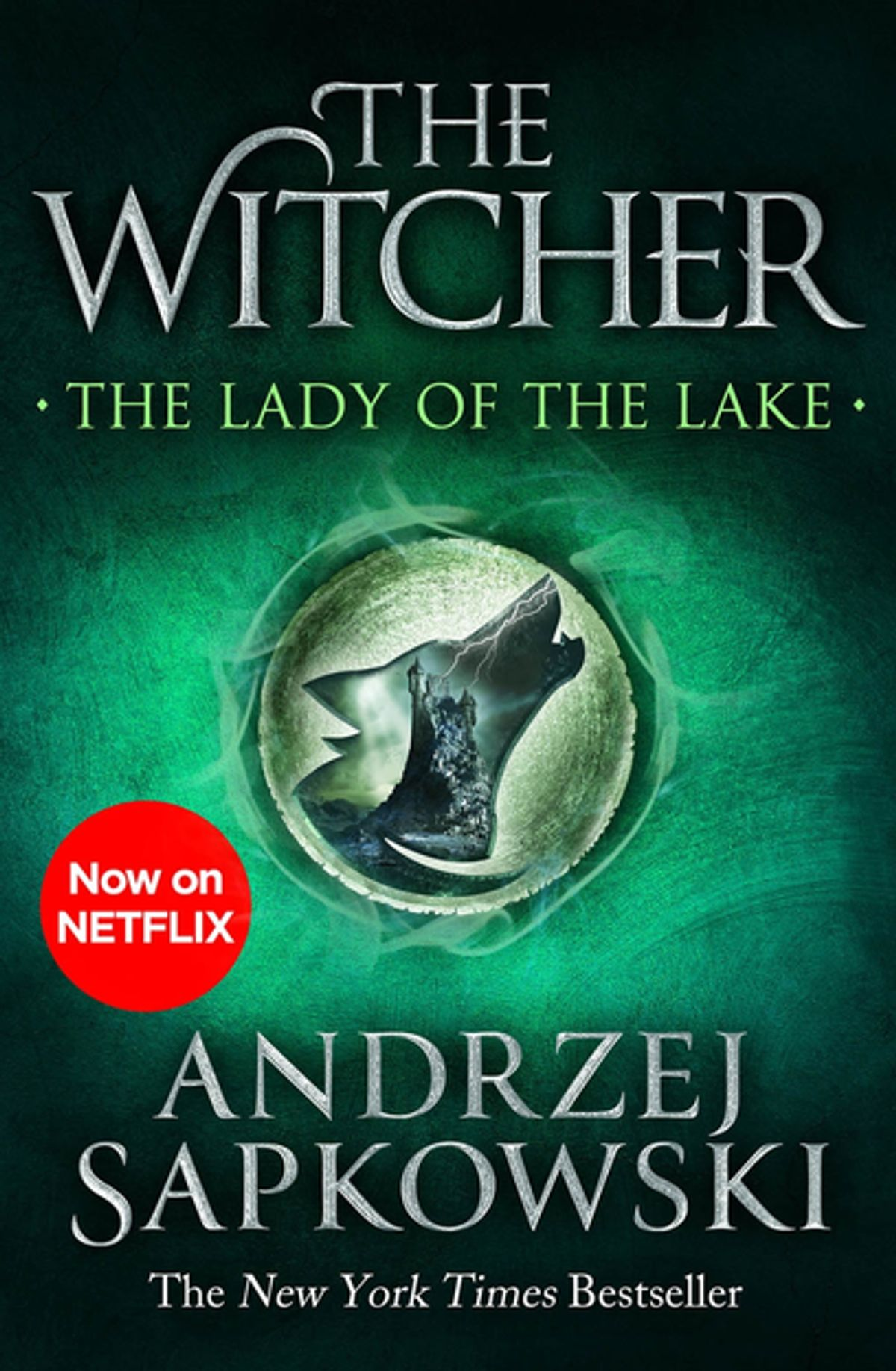 The Lady of the Lake cover - The Witcher by Andrzej Sapkowski