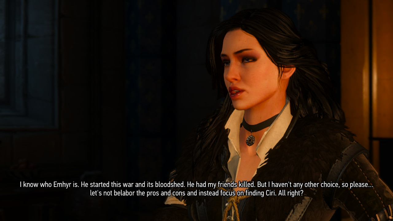 The Witcher 3 on Nintendo Switch Yennefer
