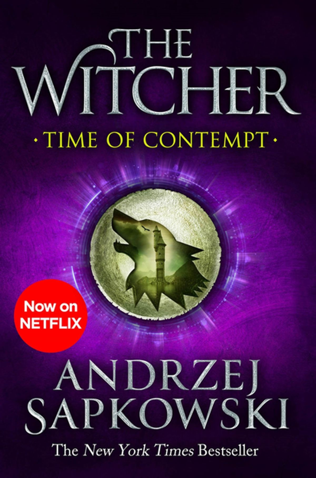 Time of Contempt cover - The Witcher by Andrzej Sapkowski
