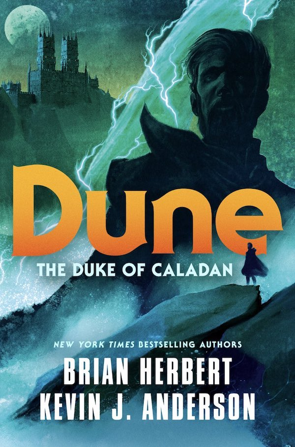 The Duke of Caladan cover Brian Herbert
