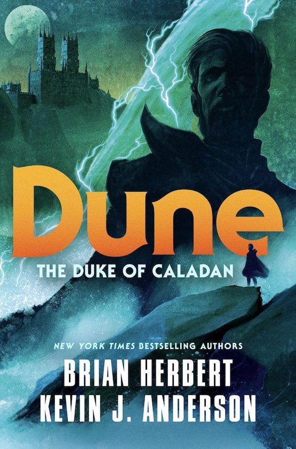 Duke of Caladan cover Brian Herbert