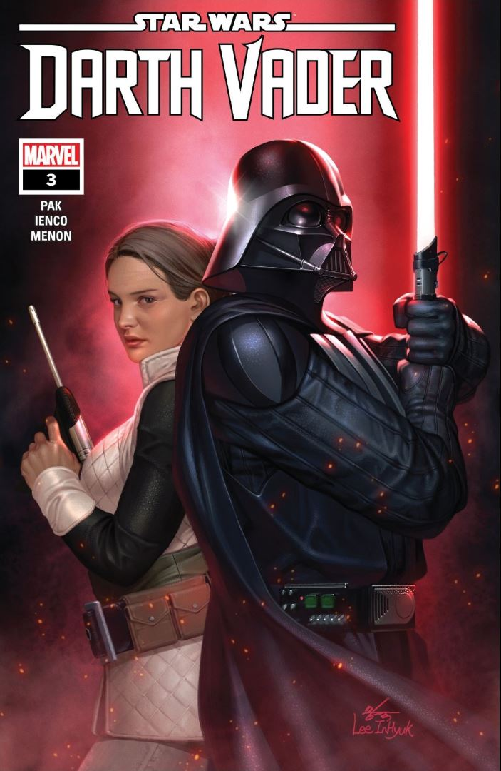 Issue #3 Star Wars Darth Vader cover by Inhyuk Lee