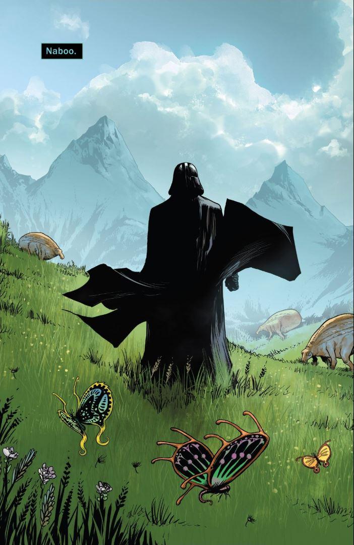 Issue #3 Star Wars Darth Vader on Naboo