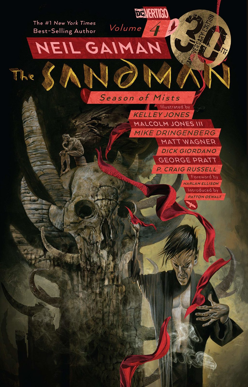 The Sandman Season of Mists cover 30th anniversary