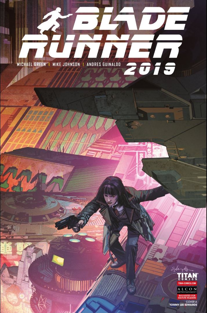 Blade Runner issue #9 cover by Tommy Lee Edwards