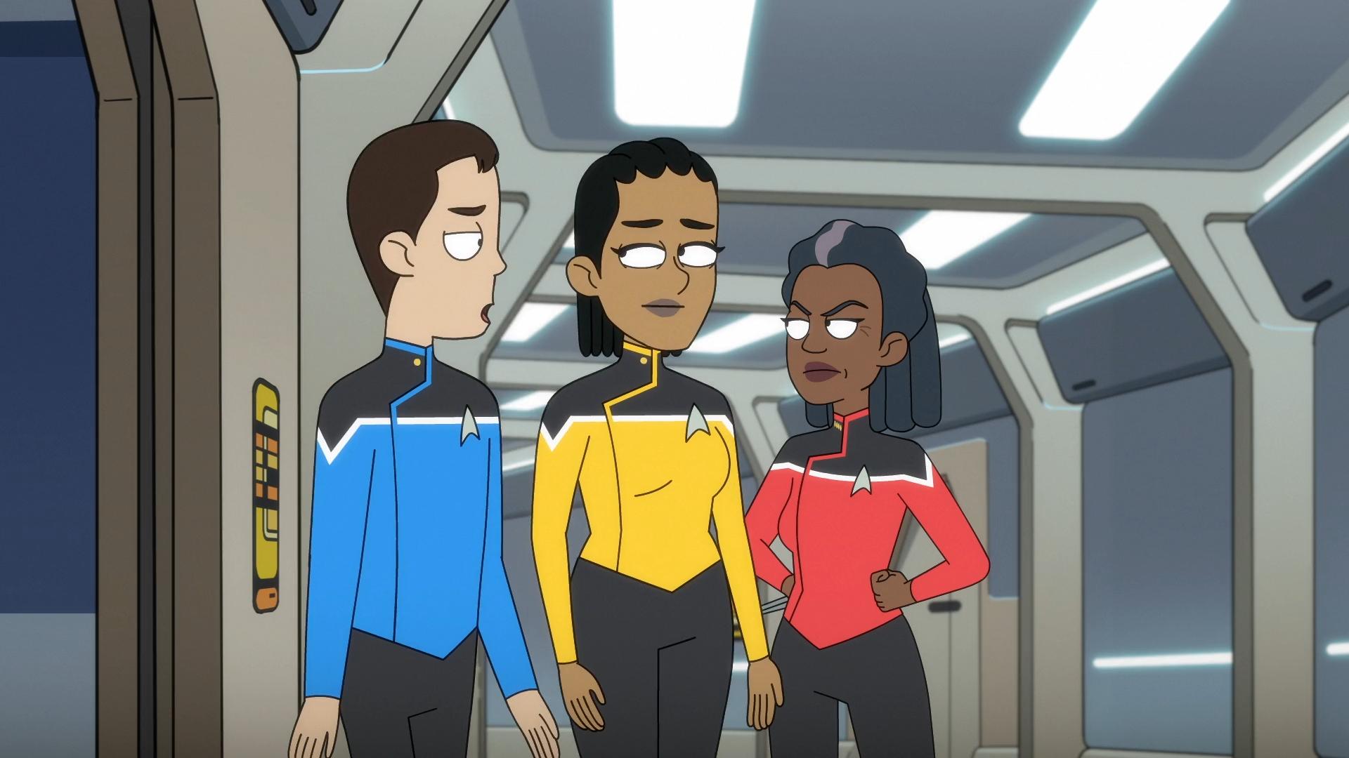 Star Trek Lower Decks No more buffertime