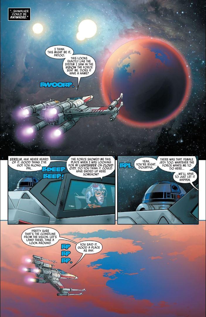 Star Wars (2020) #5 Luke arrives on Serelia