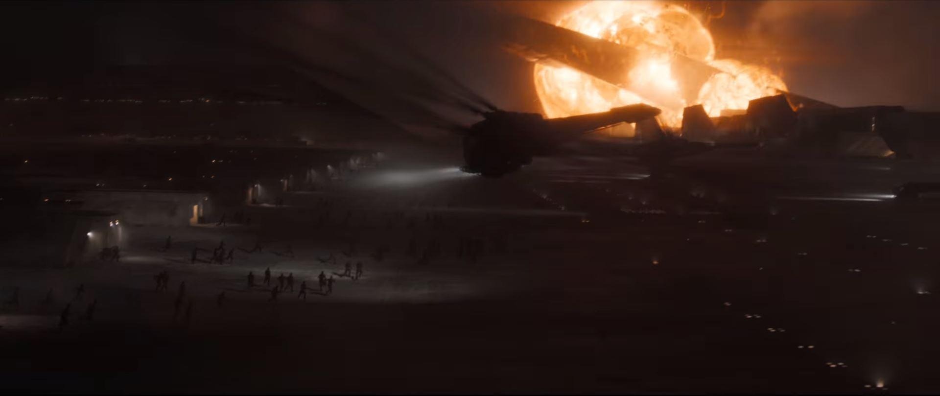 Dune movie trailer House Atreides being attacked