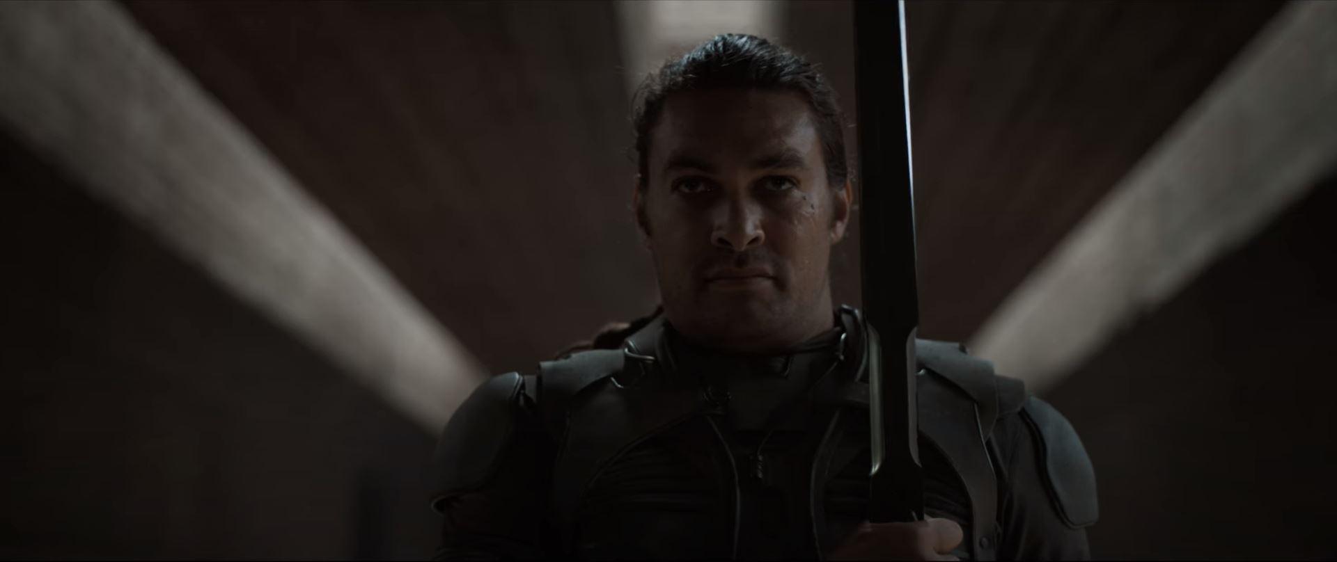 Dune movie trailer Jason Momoa as Duncan Idaho